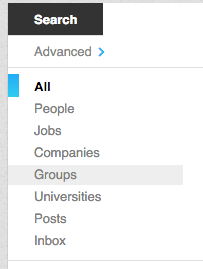 linkedin groups
