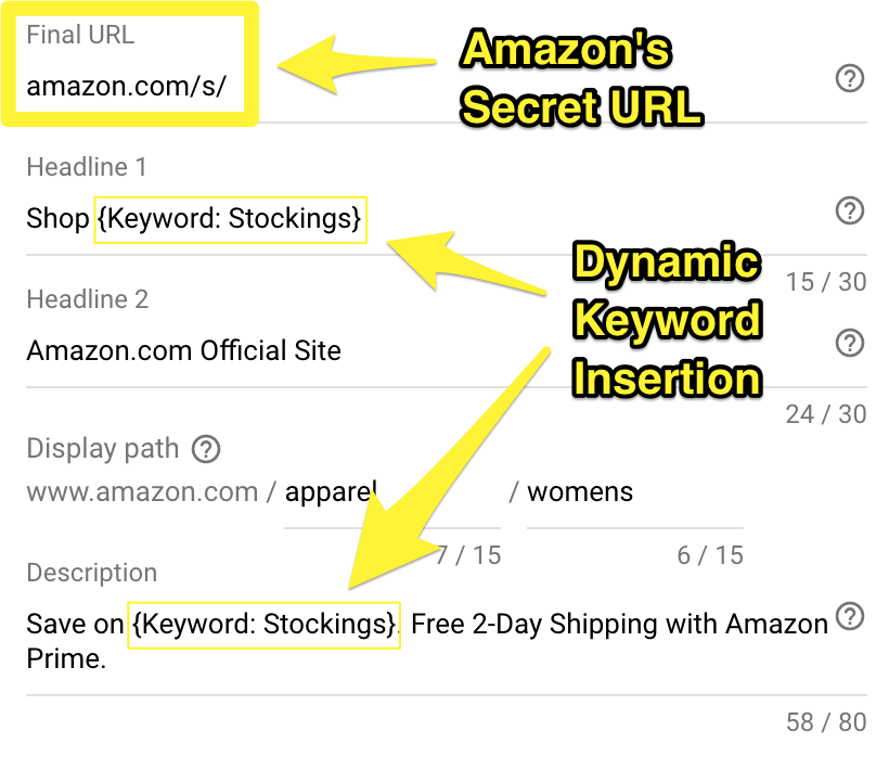 Screenshot showing information about an amazon product