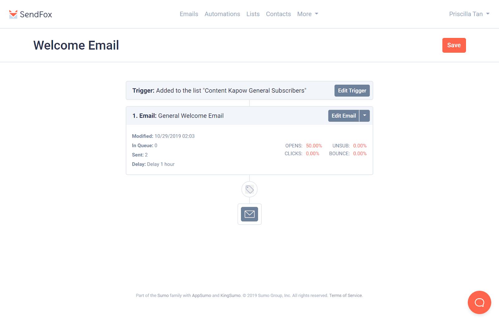 Email Autoresponder Tools: SendFox