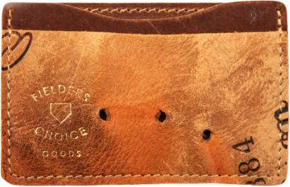 Screenshot showing a minimalist wallet