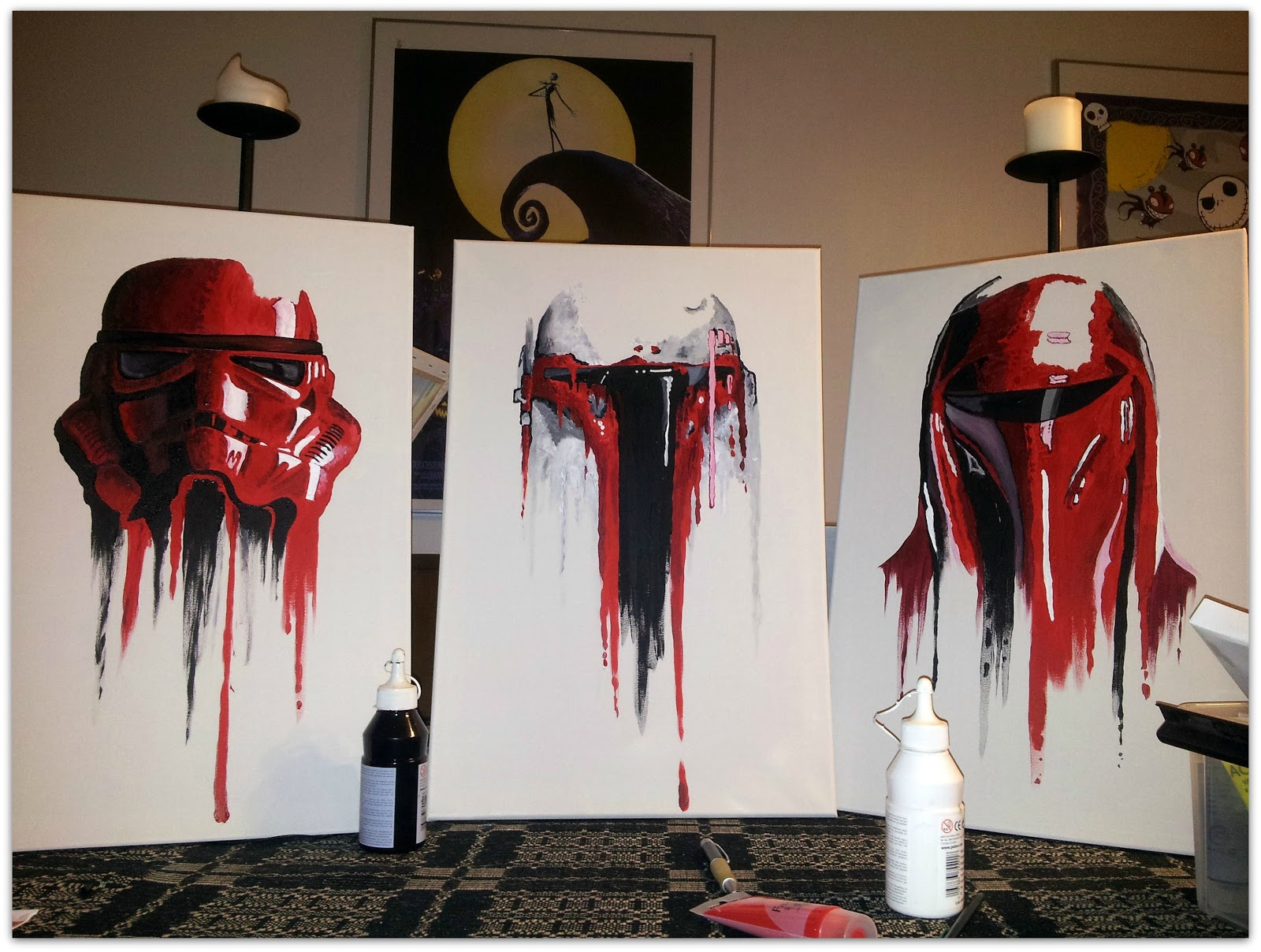 awesome star wars paintings