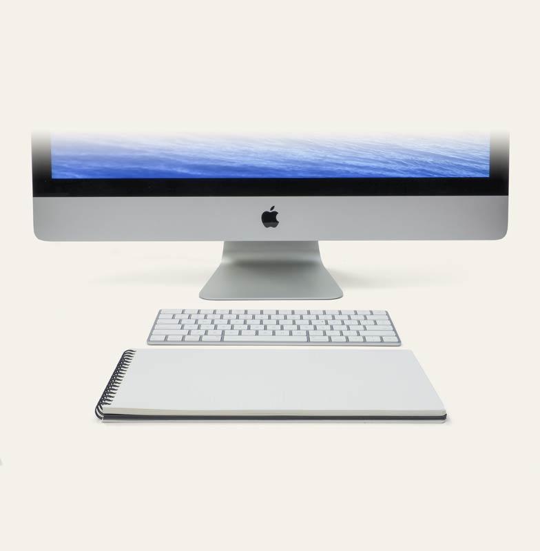 Image showing half a Mac