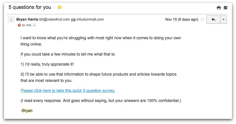 The Perfect 6-Figure Email Sales Sequence