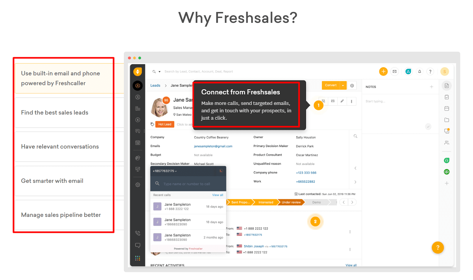 FRESHSALES product page