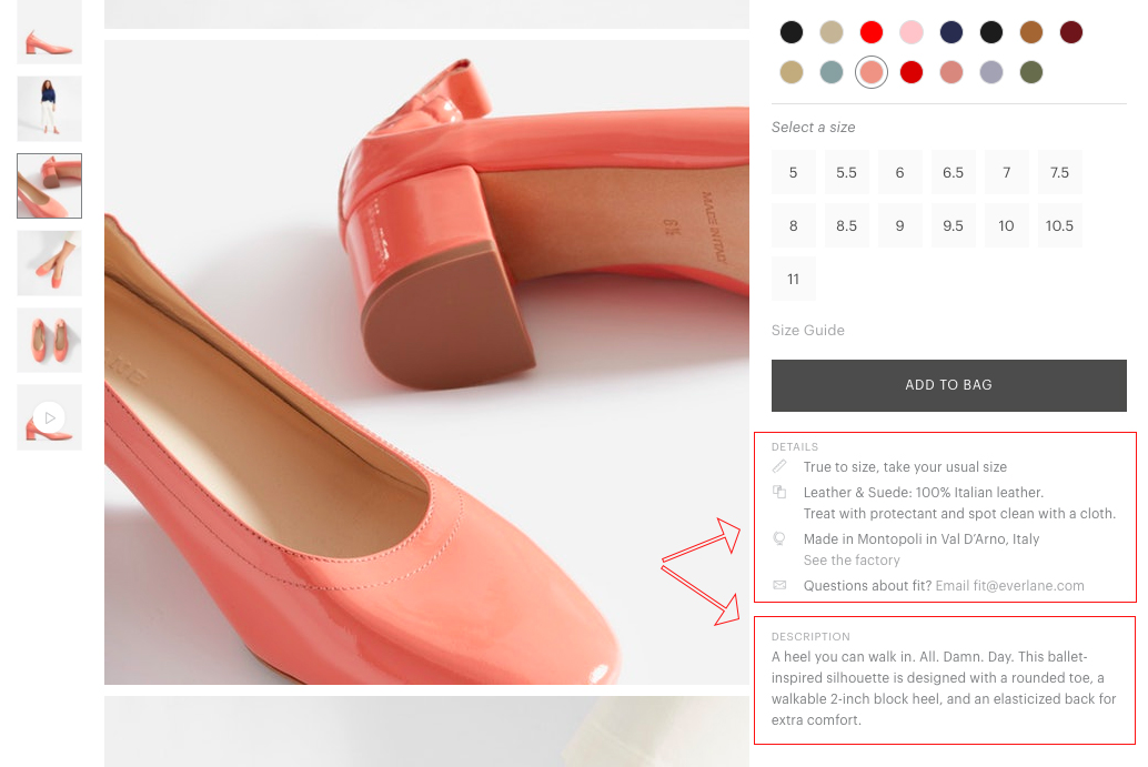 10 Ecommerce Product Description Examples That Sell (Not Tell)