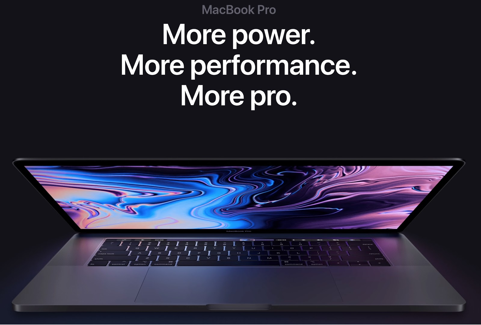 Screenshot showing the MacBook Pro