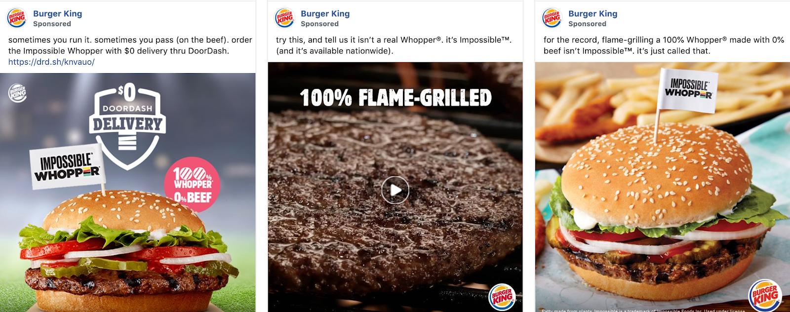 Global Marketing Strategy: Screenshot of Burger King