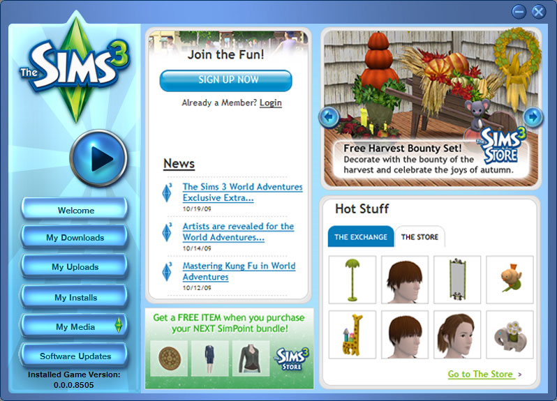 Sims 3 value proposition example