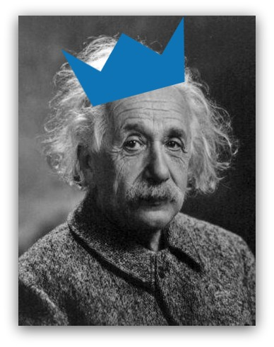 Screenshot showing Einstein