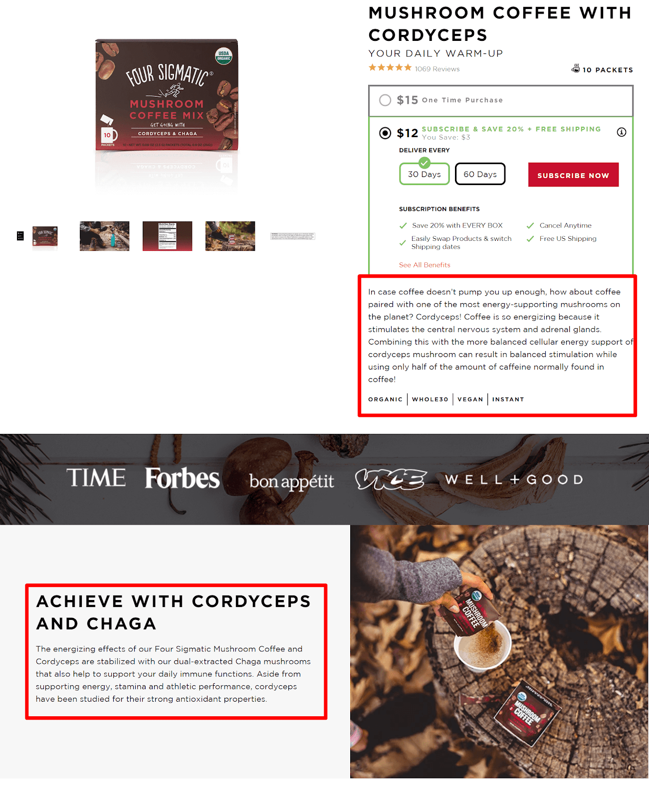 FOUR SIGMATIC product page